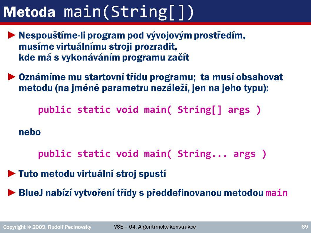 Metoda main(String[])